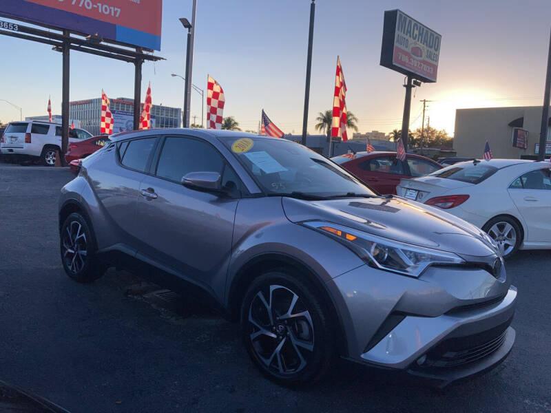 2018 Toyota C-HR for sale at MACHADO AUTO SALES in Miami FL