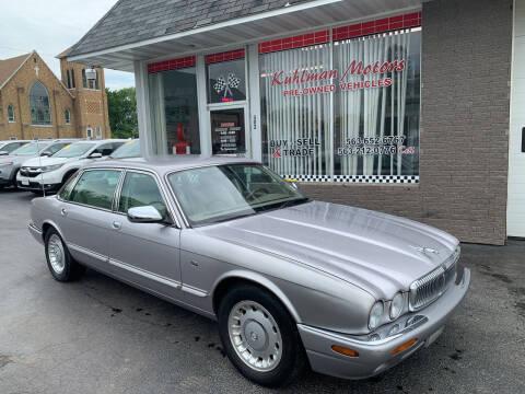 2000 Jaguar XJ-Series for sale at KUHLMAN MOTORS in Maquoketa IA
