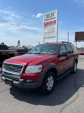 2006 Ford Explorer for sale at US 24 Auto Group in Redford MI