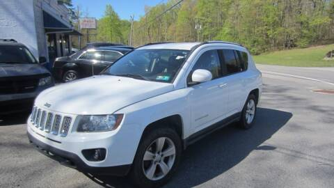 2015 Jeep Compass for sale at Auto Outlet of Morgantown in Morgantown WV