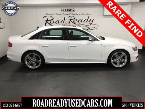 2013 Audi S4 for sale at Road Ready Used Cars in Ansonia CT