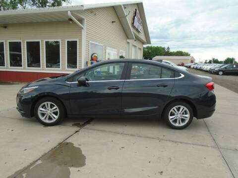 2016 Chevrolet Cruze for sale at Milaca Motors in Milaca MN