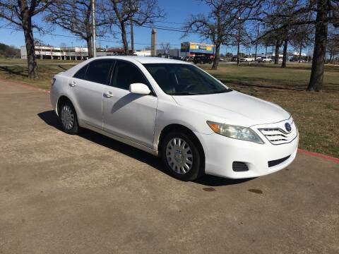 2010 Toyota Camry for sale at RP AUTO SALES & LEASING in Arlington TX