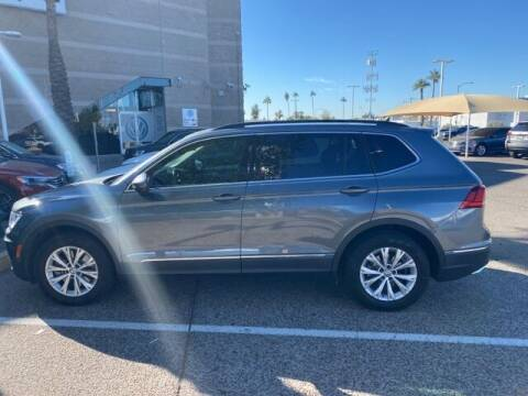 2018 Volkswagen Tiguan for sale at Camelback Volkswagen Subaru in Phoenix AZ
