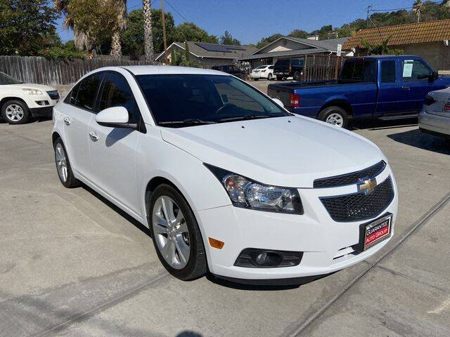 2013 Chevrolet Cruze for sale at Guarantee Auto Group in Atascadero CA