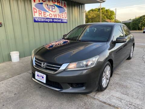 2013 Honda Accord for sale at Victoria Pre-Owned in Victoria TX