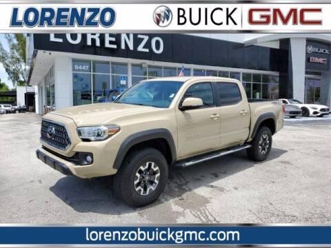 2019 Toyota Tacoma for sale at Lorenzo Buick GMC in Miami FL