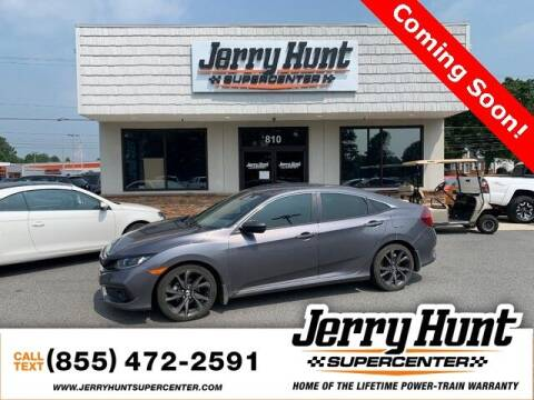 2019 Honda Civic for sale at Jerry Hunt Supercenter in Lexington NC