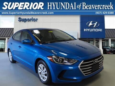 2017 Hyundai Elantra for sale at Superior Hyundai of Beaver Creek in Beavercreek OH