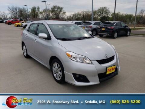 2010 Toyota Matrix for sale at RICK BALL FORD in Sedalia MO