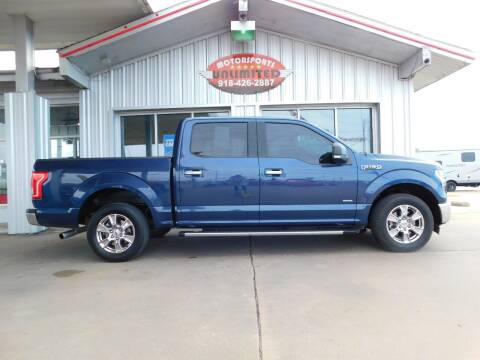 2017 Ford F-150 for sale at Motorsports Unlimited in McAlester OK