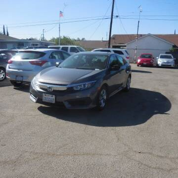 2016 Honda Civic for sale at Luxor Motors Inc in Pacoima CA