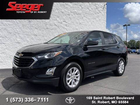 2021 Chevrolet Equinox for sale at SEEGER TOYOTA OF ST ROBERT in Saint Robert MO