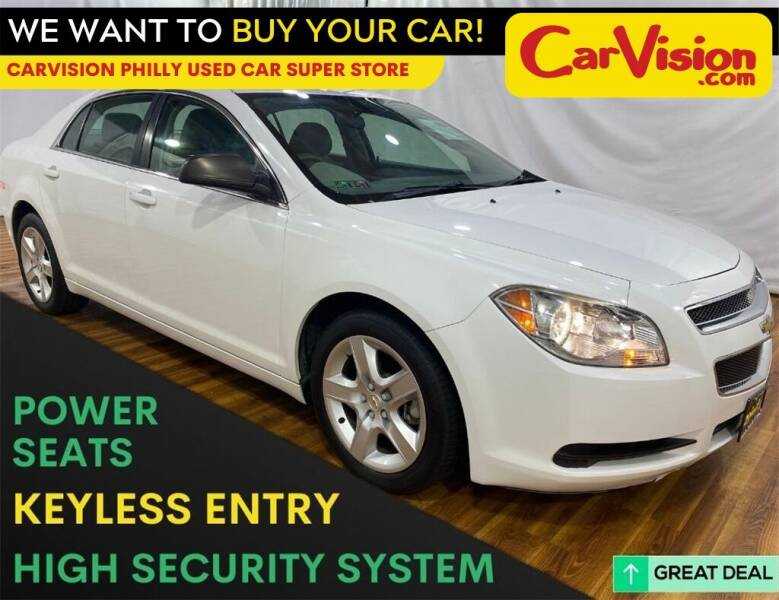 2011 Chevrolet Malibu for sale at Car Vision Mitsubishi Norristown - Car Vision Philly Used Car SuperStore in Philadelphia PA