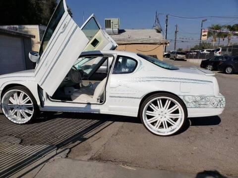 2003 Chevrolet Monte Carlo for sale at E and M Auto Sales in Bloomington CA