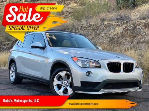 2015 BMW X1 for sale at Baba's Motorsports, LLC in Phoenix AZ