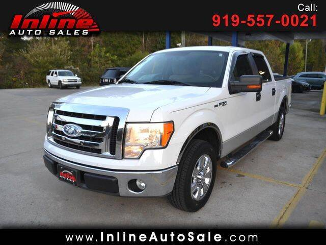 2009 Ford F-150 for sale at Inline Auto Sales in Fuquay Varina NC