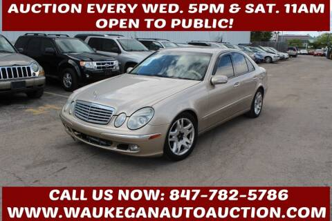 2003 Mercedes-Benz E-Class for sale at Waukegan Auto Auction in Waukegan IL