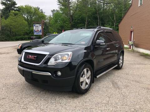 2011 GMC Acadia for sale at Hornes Auto Sales LLC in Epping NH