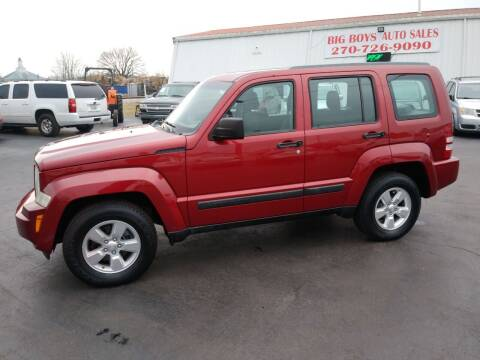2012 Jeep Liberty for sale at Big Boys Auto Sales in Russellville KY