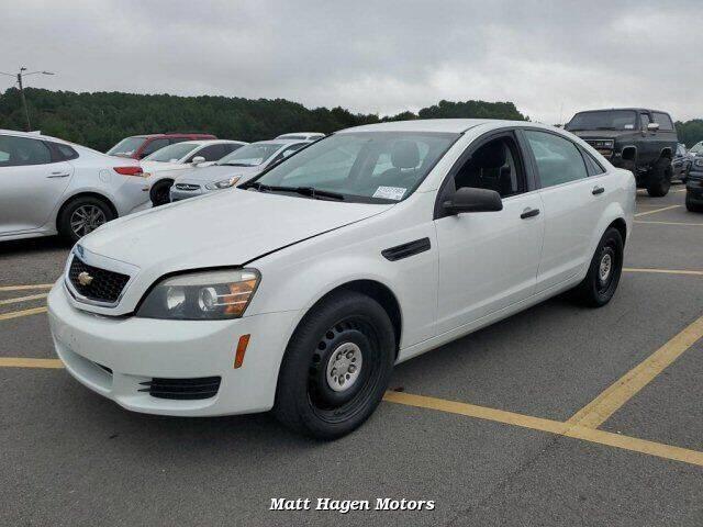 2014 Chevrolet Caprice for sale at Matt Hagen Motors in Newport NC
