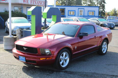 2007 Ford Mustang for sale at BAYSIDE AUTO SALES in Everett WA