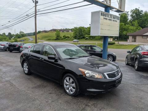 2009 Honda Accord for sale at Route 22 Autos in Zanesville OH