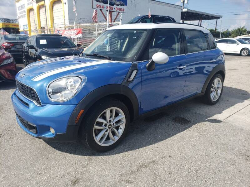 2013 MINI Countryman for sale at INTERNATIONAL AUTO BROKERS INC in Hollywood FL