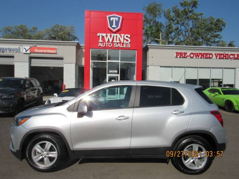 2020 Chevrolet Trax for sale at Twins Auto Sales Inc in Detroit MI