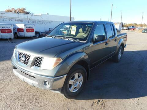 2006 Nissan Frontier for sale at AUGE'S SALES AND SERVICE in Belen NM