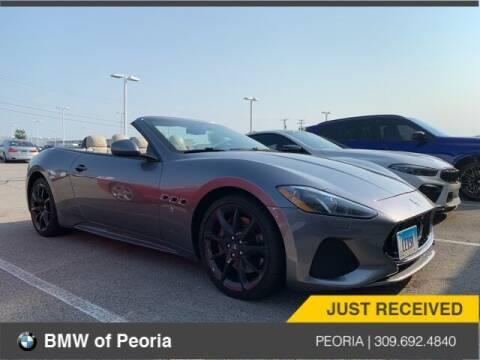2018 Maserati GranTurismo for sale at BMW of Peoria in Peoria IL