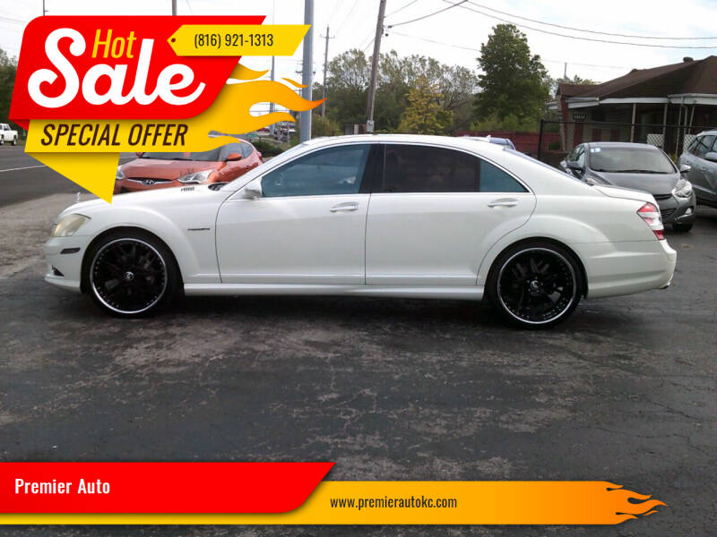2008 Mercedes-Benz S-Class for sale at Premier Auto in Independence MO