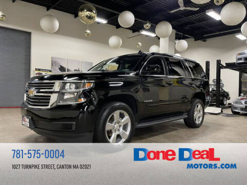 2015 Chevrolet Tahoe for sale at DONE DEAL MOTORS in Canton MA