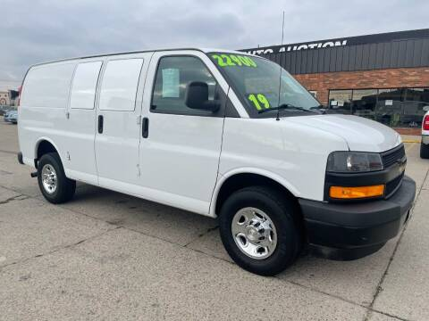 2019 Chevrolet Express Cargo for sale at Motor City Auto Auction in Fraser MI