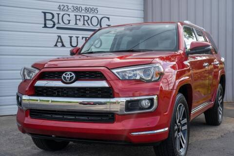 2018 Toyota 4Runner for sale at Big Frog Auto in Cleveland TN