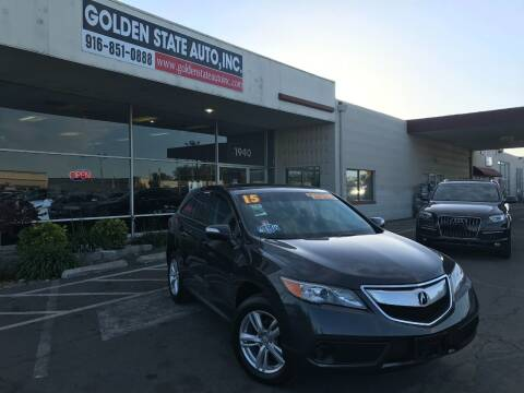 2015 Acura RDX for sale at Golden State Auto Inc. in Rancho Cordova CA