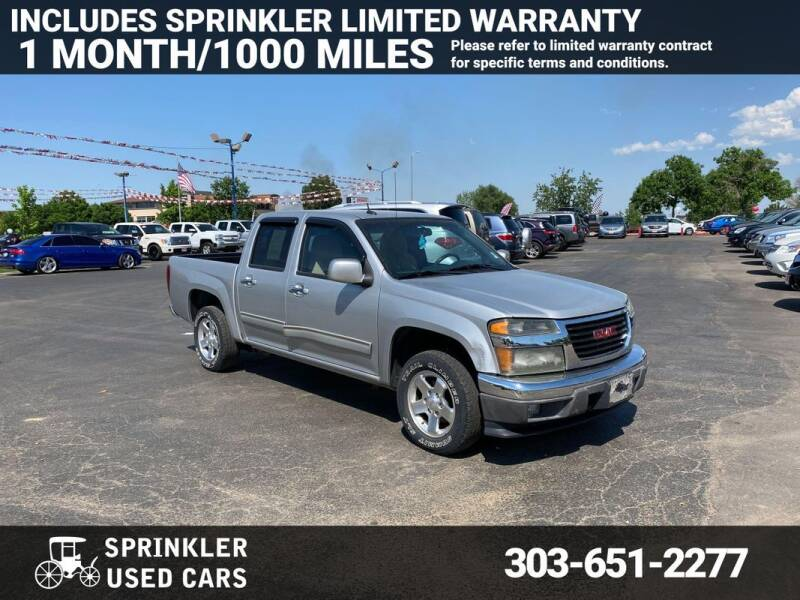 2010 GMC Canyon for sale at Sprinkler Used Cars in Longmont CO
