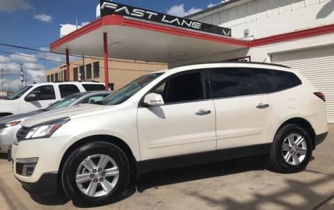 2014 Chevrolet Traverse for sale at FAST LANE AUTO SALES in San Antonio TX