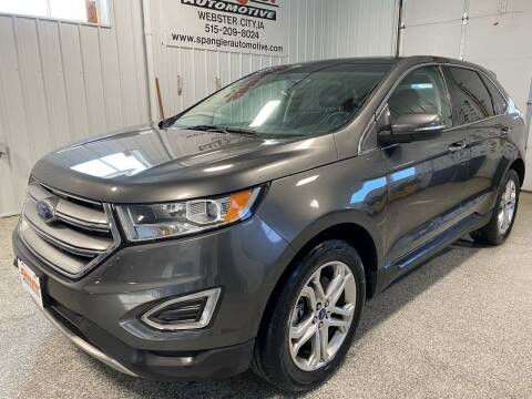 2018 Ford Edge for sale at SPANGLER AUTOMOTIVE WC LLC in Webster City IA