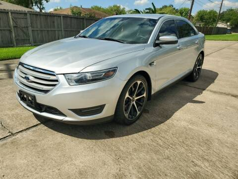 2015 Ford Taurus for sale at MOTORSPORTS IMPORTS in Houston TX