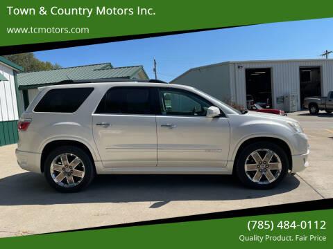 2011 GMC Acadia for sale at Town & Country Motors Inc. in Meriden KS