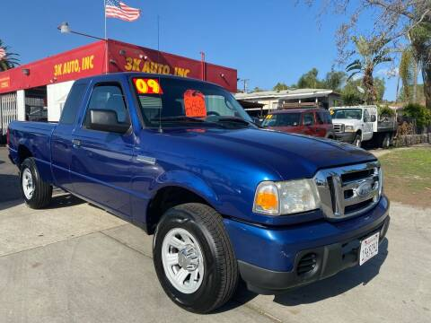 2009 Ford Ranger for sale at 3K Auto in Escondido CA