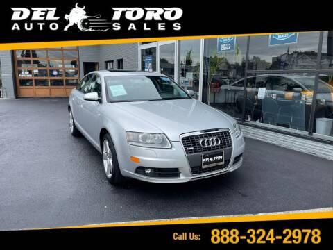 2008 Audi A6 for sale at DEL TORO AUTO SALES in Auburn WA