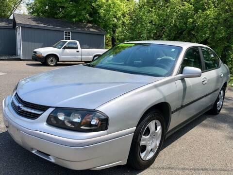 2004 Chevrolet Impala for sale at Perfect Choice Auto in Trenton NJ