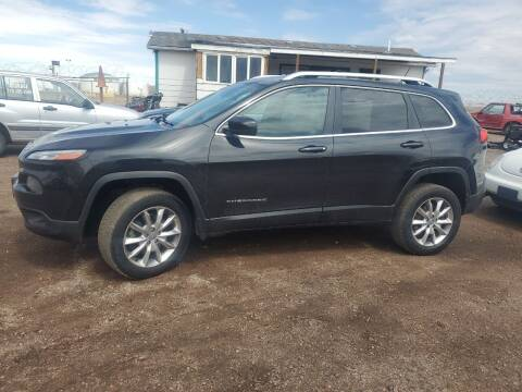 2014 Jeep Cherokee for sale at PYRAMID MOTORS - Fountain Lot in Fountain CO