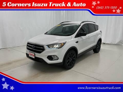 2017 Ford Escape for sale at 5 Corners Isuzu Truck & Auto in Cedarburg WI