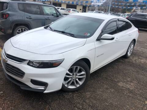 2016 Chevrolet Malibu for sale at Matt Jones Preowned Auto in Wheeling WV