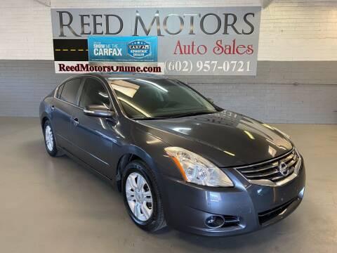 2012 Nissan Altima for sale at REED MOTORS LLC in Phoenix AZ