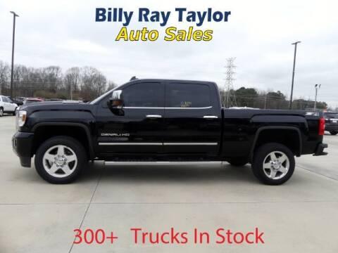 2015 GMC Sierra 2500HD for sale at Billy Ray Taylor Auto Sales in Cullman AL