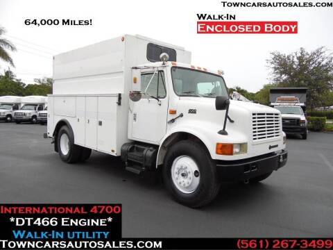 1996 International 4700 for sale at Town Cars Auto Sales in West Palm Beach FL